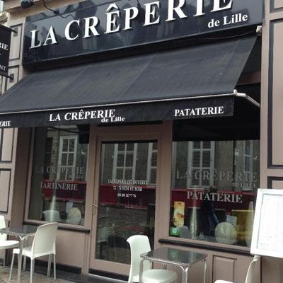 façade crêperie de Lille