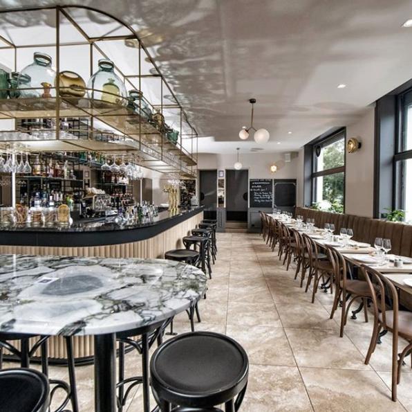 intérieur restaurant Rituel lille