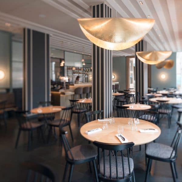 intérieur restaurant le Cerisier Lille